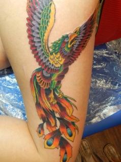 Custom Bird Tattoo