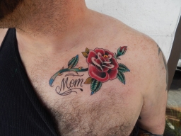 Rose Tattoo for Mom