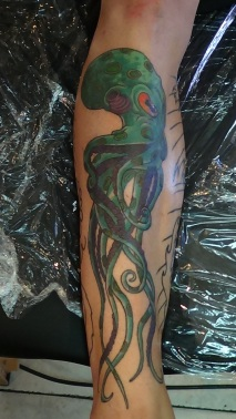 Squid Tattoo