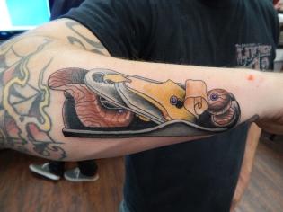 Woodworking Tool Tattoo