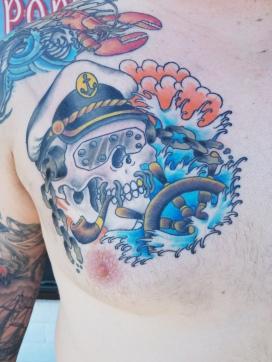 Vic Rattlehead Sea Captain